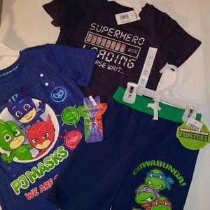 Other - Boys Size 3T lot of 3 shirts and shorts